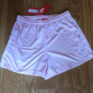 NWT-Puma pink shorts